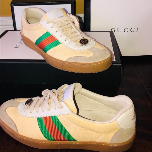 Gucci Shoes G74 Leather Sneaker